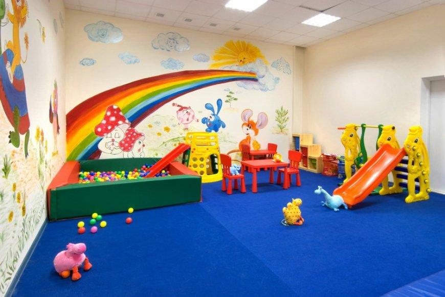 Оснащение детской игровой комнаты