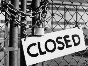 Закрытие предприятия