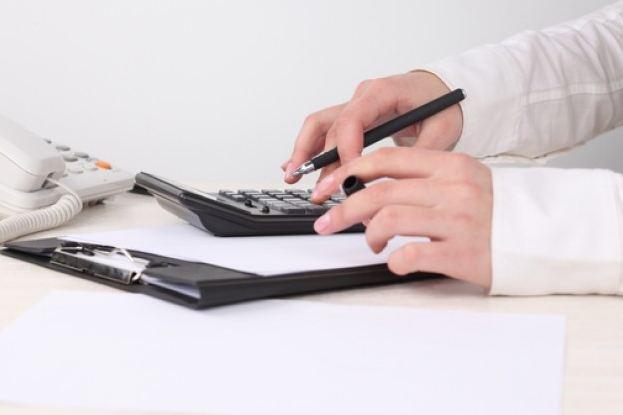 Счёт на калькуляторе