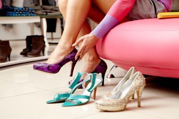 Продажа женской обуви