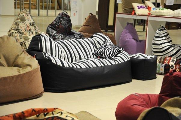 Бескаркасная мебель: домашний бизнес с нуля