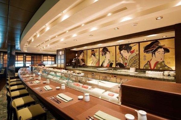 Декоративное оформление суши-бара