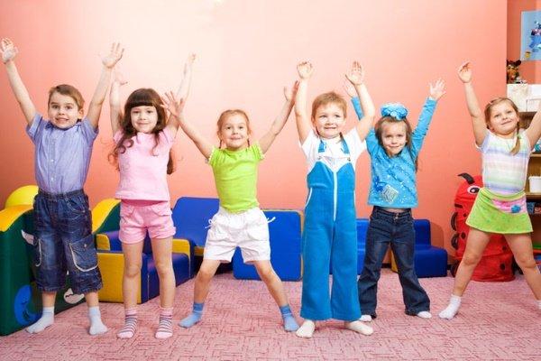Физминутка в центре развития ребенка