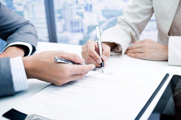 Подписание договора купли-продажи предприятия