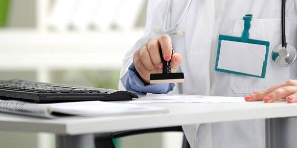 Печати на больничном листе: вид, количество и общие требования
