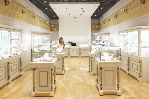Оформление ювелирного магазина