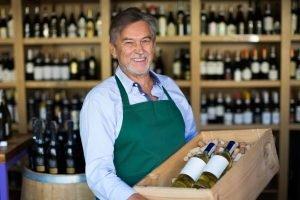 Открытие магазина вина