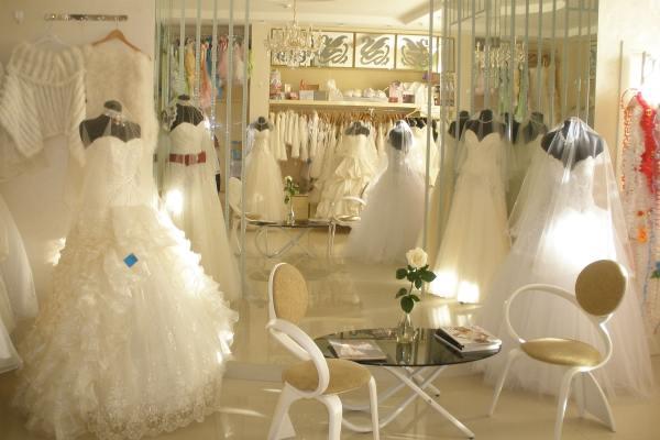 Укомплектованный свадебный салон