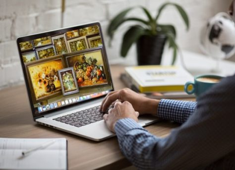 Продажа картин через Интернет